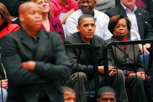 President Barack Obama, Craig Robinson, men's basketball, Oregon