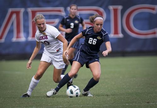 Claire Haft, women's soccer, american, AU