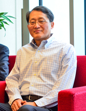 GW School of Business Vice Dean for Faculty and Research Sok-Hyon Kang wants to refine the business school's hiring practices to accommodate industry leaders who might be discouraged from applying due to an intensive interview process.