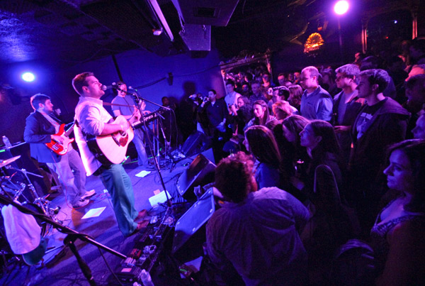 Naylor Court plays to a packed hometown crowd Friday at the Rock and Roll Hotel.