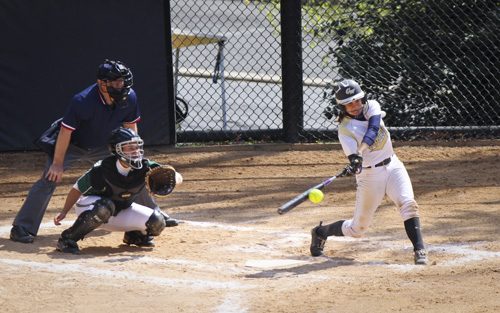 Softball team swept by Charlotte in Sunday doubleheader