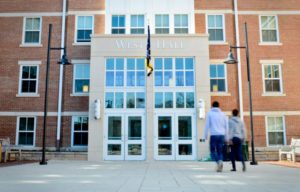 Two students died in West Hall on the Mount Vernon Campus last week. Hatchet File Photo