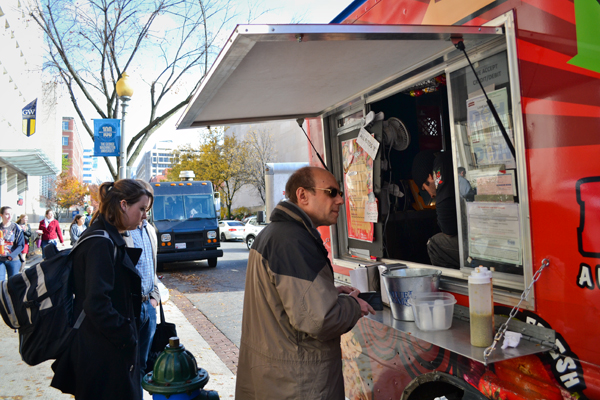 Food trucks will soon be able to accept GWorld as payment following an announcement from the University after months of student lobbying.