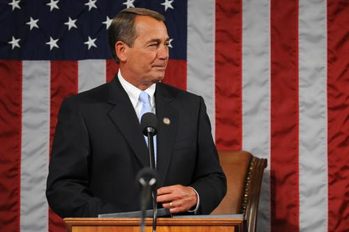 Speaker John Boehner, R-Ohio, has led Republican efforts to hinge a continuing resolution for federal spending on Obamacare. Facing Senate opposition, the government shutdown on Oct. 1.