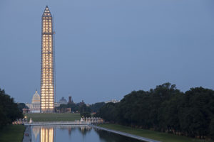 The Washington Monument opened for the first time in three years Monday. Photo used under the Creative Commons license.