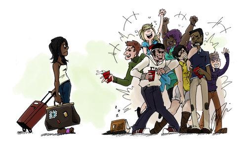Cartoon by Jay Fondin