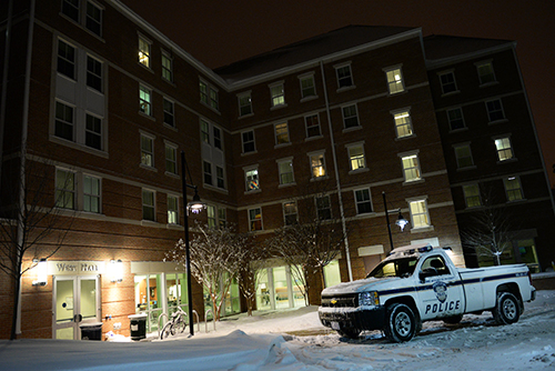 A student was found dead in West Hall on the Mount Vernon Campus on Tuesday evening. Samuel Klein   Photo Editor