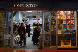One Stop News went out of business Friday. | Hatchet File Photo.