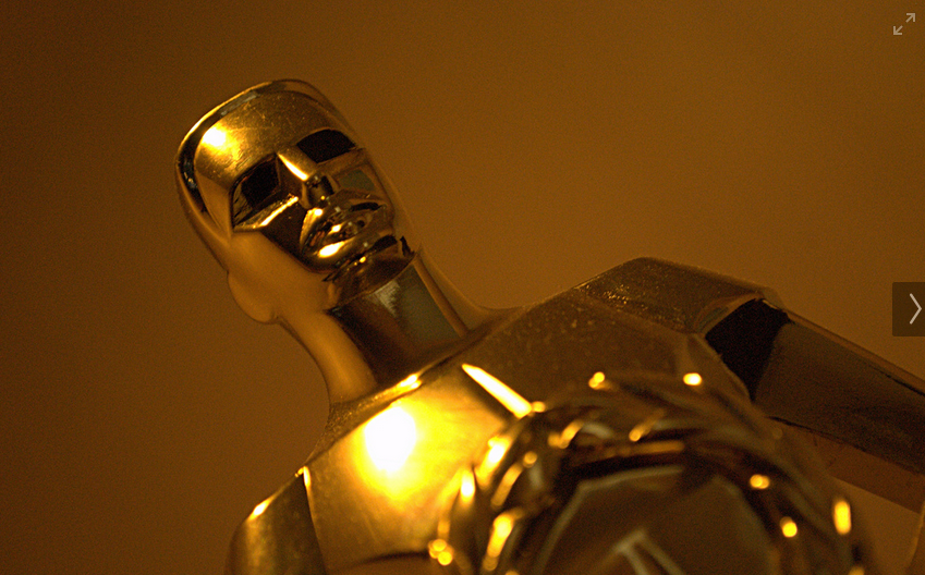 Oscar statue. Photo used under the Creative Commons License.