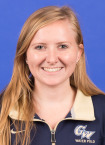 Women's water polo senior Rachael Bentley. Courtesy of GW Athletics.