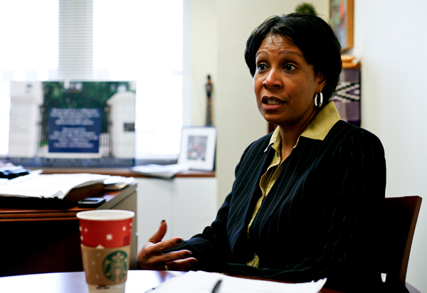 Terri Harris Reed, the University's first vice provost for diversity and inclusion, announced she is leaving GW. Hatchet File Photo
