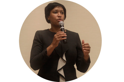Muriel Bowser earned the Democratic nomination for D.C. mayor last week. Hatchet File Photo by Katie Causey
