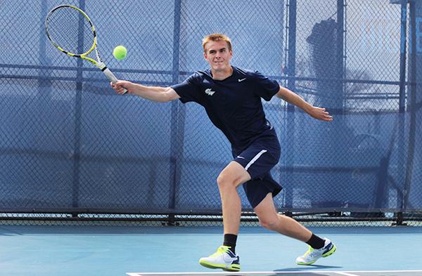 Men's tennis leans on veteran duo heading into NCAA opener ...