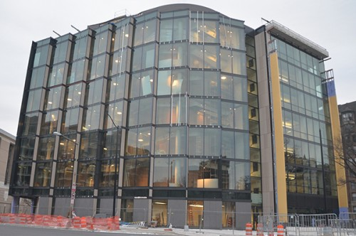 The Milken Institute School of Public Health received the highest ranking under the LEED certification system, the University announced Tuesday. Hatchet File Photo