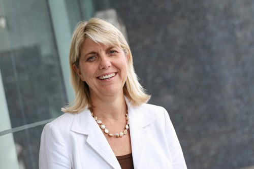 Linda Livingstone, the former dean of Pepperdine University's business school, will take over GW's business school a year after Doug Guthrie was fired from the position. Photo courtesy of GW Media Relations