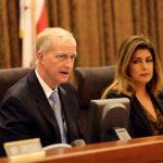 Council member Jack Evans hears testimony on marijuana legalization in D.C.  Dan Rich | Hatchet Photographer
