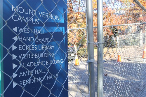 GW plans to give GWorld cards to neighbors to use a new gate at the Mount Vernon Campus' W Street entrance. Jordan McDonald | Hatchet Photographer