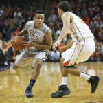 Joe McDonald played 38 minutes in GW's first loss of the season to UVA on Friday night, more than any other GW player. C