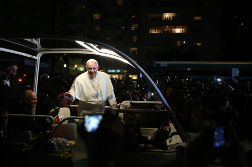 Pope Francis will be in the District this fall. Photo by George Martell/Pilot New Media used under a CC BY-ND 2.0 license.