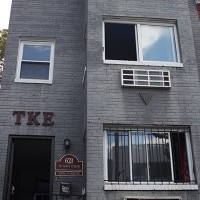 Tau Kappa Epsilon's townhouse is on 22nd Street across from the Charles E. Smith Center. Hatchet File Photo