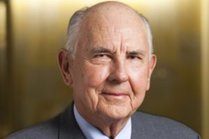 Trustee Emeritus A. James Clark died of congestive heart failure in his Easton, Md. home Friday.
