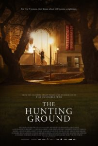 """Promotional poster for """"The Hunting Ground."""""""