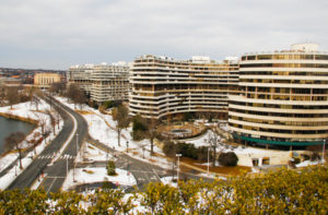 The Watergate Hotel will reopen this summer. Hatchet file photo.