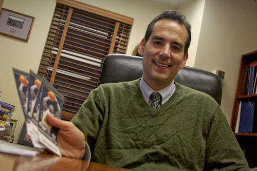 Andrew Sonn has been named the director of the Office of Parent Services. Hatchet File Photo.