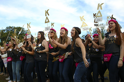 Kappa Deltas. Jordan McDonald | Hatchet Staff Photographer