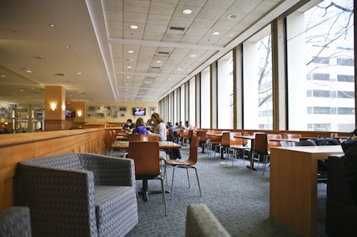 The University announced a new dining plan that will not require freshmen to spend dining dollars at on-campus eateries. Hatchet file photo by Dan Rich | Contributing Photo Editor.