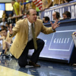 Current and former men's basketball players and staffers said head coach Mike Lonergan created an uncomfortable team environment. Hatchet file photo by Dan Rich   Photo Editor