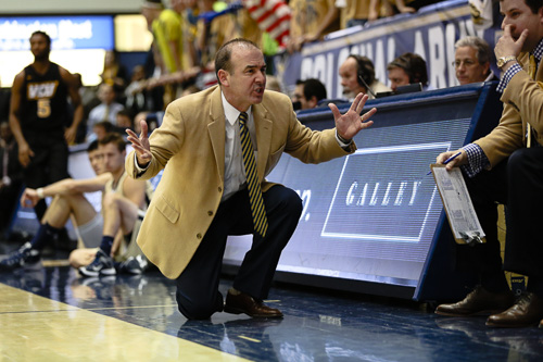 Current and former men's basketball players and staffers said head coach Mike Lonergan created an uncomfortable team environment. Hatchet file photo by Dan Rich | Photo Editor