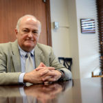 University President Steven Knapp issued a statement Tuesday about race relations on campus. Hatchet file photo