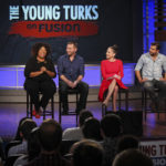 The Young Turks broadcast live from GW's campus. Keren Carrion | Hatchet Staff Photographer