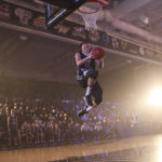 Junior Yuta Watanabe won this year's dunk contest at Colonials Madness. Dan Rich   Photo Editor