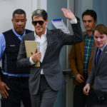 Controversial conservative journalist Milo Yiannopoulos spoke at the Elliott School on Friday. Changes to the event time left ticket-holders without access to the speech. Madeleine Cook   Hatchet Staff Photographer