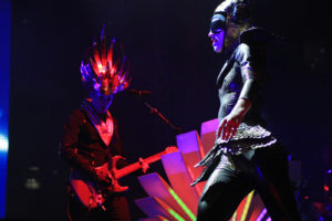 Empire of the Sun preforms at All Things Go. Anne McBride | Hatchet Staff Photographer
