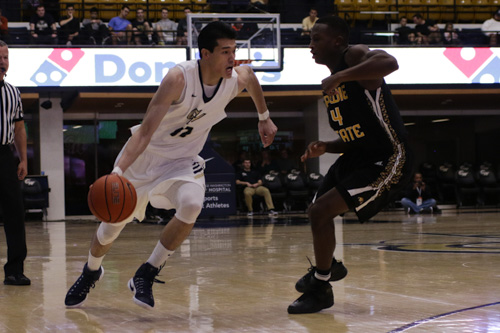 Junior forward Yuta Watanabe scored a team-high 19 points in GW's 86-80 exhibition win Saturday. The Colonials officially open the season Friday when they play host to Marlyand Eastern Shore. Ethan Stoller   Hatchet Photographer