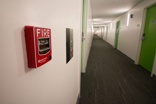 Fire Alarms In District House Affinities Evacuate Entire
