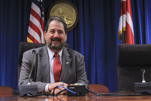 D.C. Shadow Senator Paul Strauss, said the statehood referendum is advisory and would show that residents support statehood for D.C. Max Wang | Hatchet Photographer