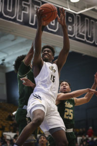 Smith scored a career-high 22 points and added a game-high 4 steals in the one-point decision. Dan Rich | Photo Editor
