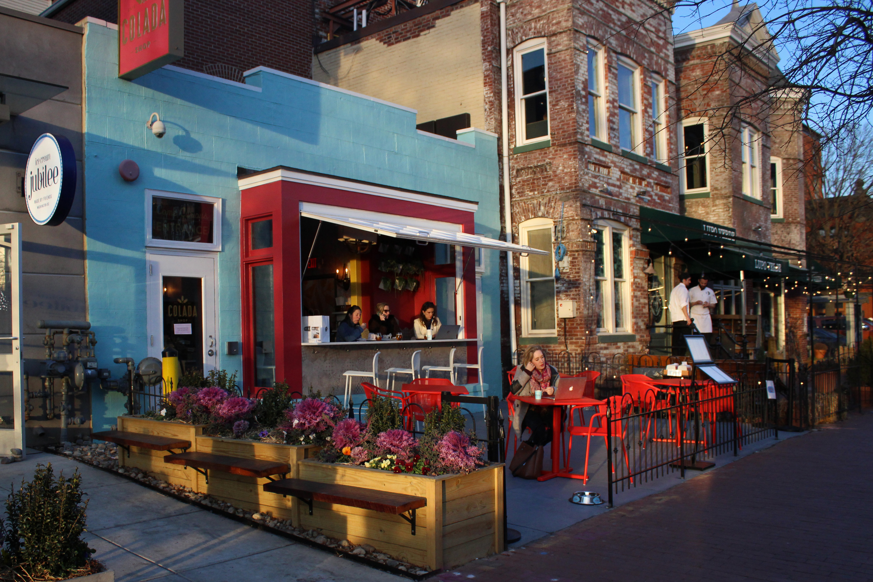 Internationally inspired coffee shops tea houses around D C