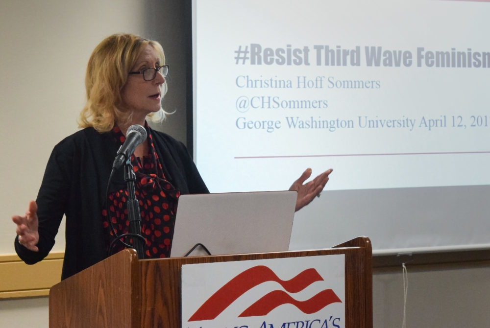 Young America's Foundation hosts critic of third wave feminism