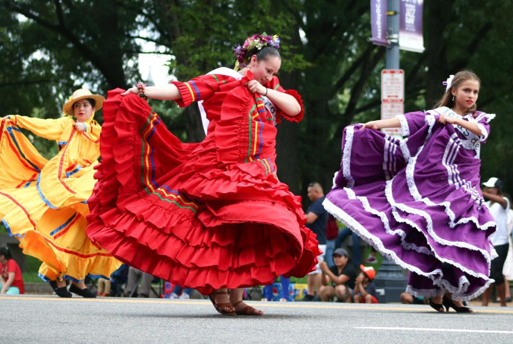 Latino Culture  >> Snapshot Dance Troupes Celebrate Latino Culture At Fiesta D C