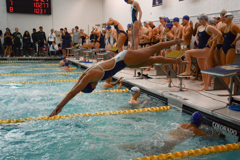 Swimming Dominates Old Dominion To Finish Season The Gw Hatchet