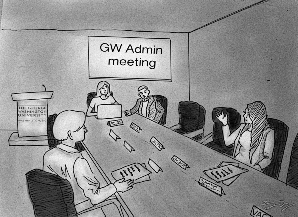 Cartoon by Grace Lee