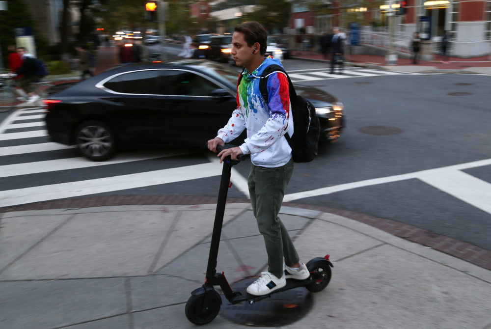 D C  increases cap, reduces speed limit on dockless scooters, bikes