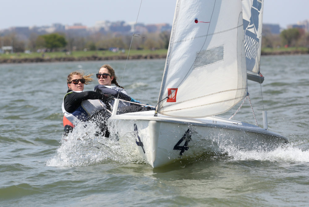 Women's sailing had its best finish in program history.