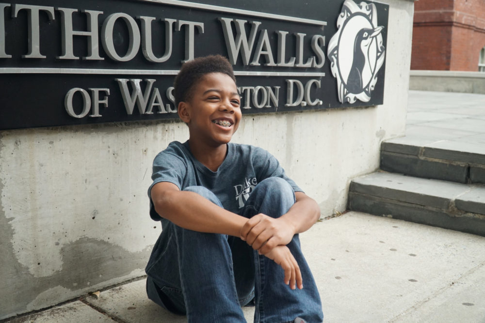 Fourteen-year-old pursues associate degree at GW