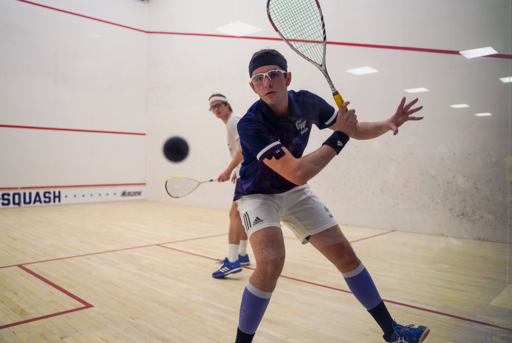 Men's and women's squash drop matches to Virginia, Princeton over the weekend - GW Hatchet
